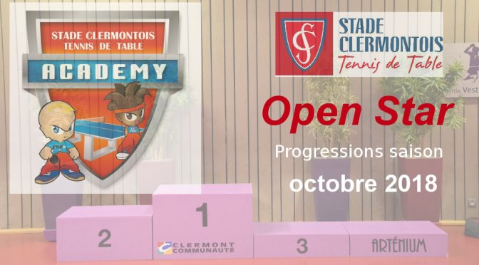 L'Open Star d'octobre 2018