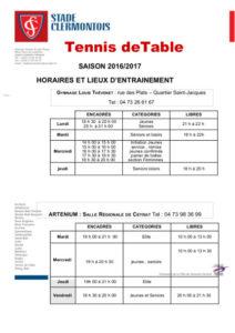 stade-clermontois-tennis-de-table-horaires-entrainements-2016-2017